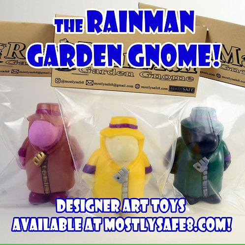 Garden Gnome - MostlySAFE RainMan Mascot Rubber Designer Art Toy
