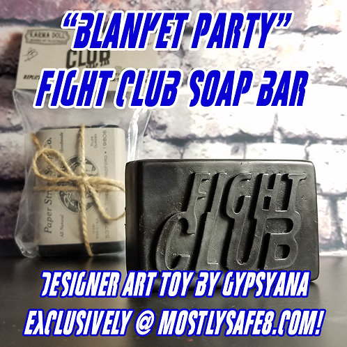 Blanket Party Fight Club Soap - Rubber Designer Art Toy