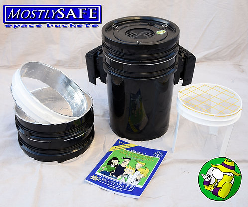 Space Bucket - RainMan MostlySAFE Designer Spacebuckets