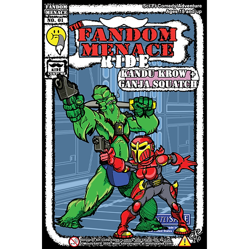 Comic Book Science-Fiction/Humor: The Fandom Menace Side Quests