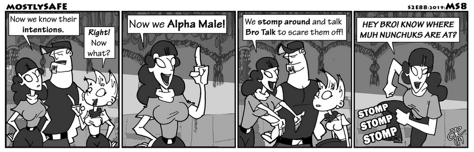 Alpha Male It Up