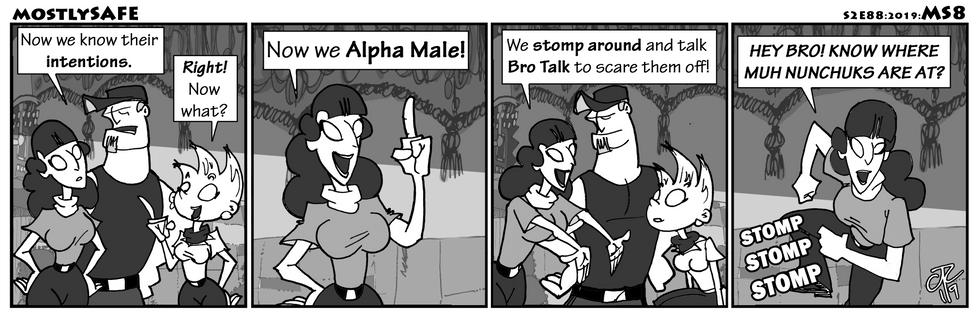 Alpha Male It Up