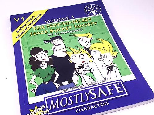 Comic Graphic Novel - MostlySAFE Webcomic Volume 1