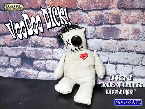 Creepy Cute Voodoo Doll - Voodoo Dick Handsewn Ragdoll Poppet Karma Doll