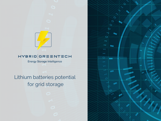 Lithium batteries potential for grid storage