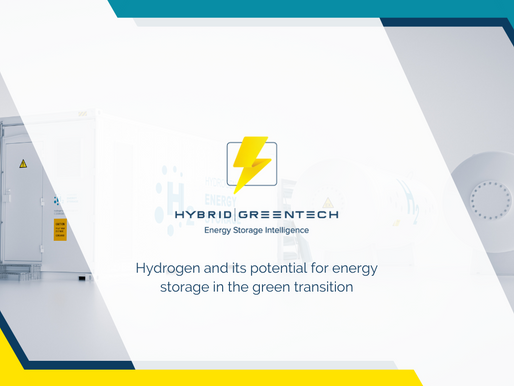 Hydrogen and its potential for energy storage in the green transition
