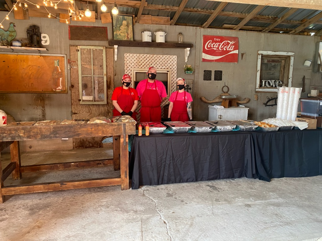 BBQ Hut Catering Event Fay NC
