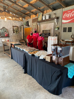 Masked BBQ Catering Fayetteville NC