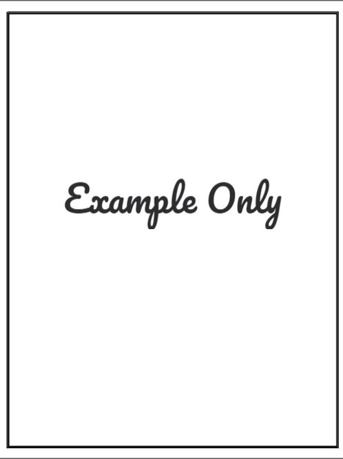 Custom A4 Single Image Edible Image - Frosting Sheet