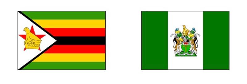 Rhodesia Flag and Rhodesian Flag.