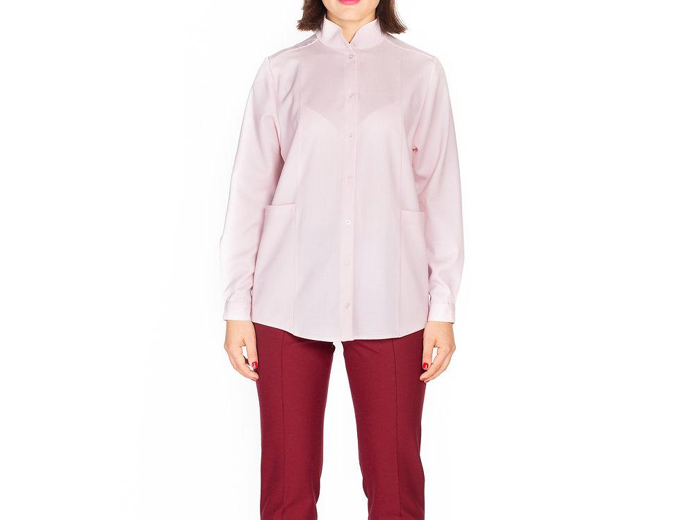 Light Pink Wool Shirt