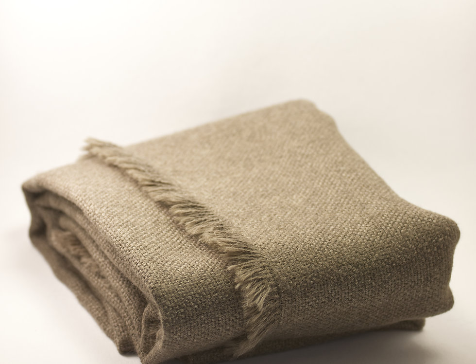 Sand Squared Wool Scarf