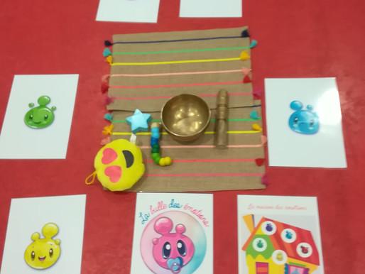 """Atelier sophrologie """"la bulle des émotions"""" auprès des jeunes enfants en crèche"""
