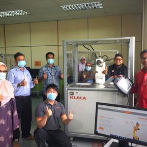 KUKA Ready2Educate supplied to Adtec Batu Pahat