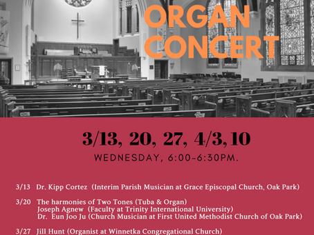 Lenten Concert Series - Wednesdays During Lent!