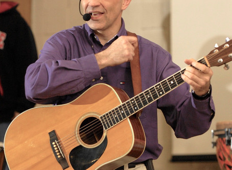 September 29 special worship service with Rich Rubietta