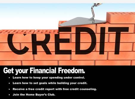 Monthly Financial Literacy Empowerment & Credit Build Workshop!