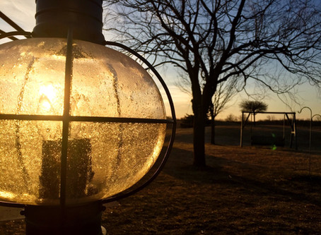 A Lantern Clear and Ready