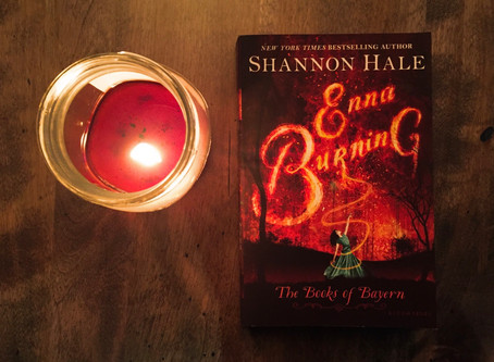 Enna Burning, by Shannon Hale: Review