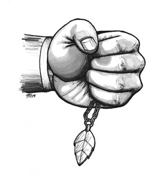 Inktober: Camuel's Chain