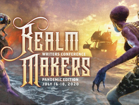 Realm Makers Writers Conference (and why it was awesome)