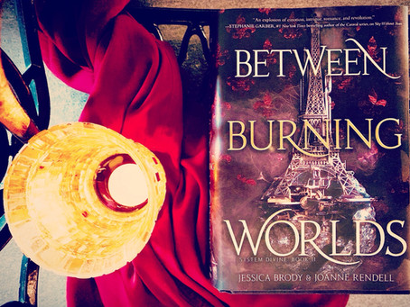 Between Burning Worlds, by Jessica Brody & Joanne Rendell: Review