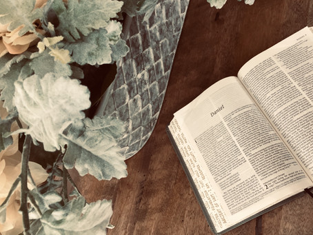 Monday Musings: Daniel 10:19