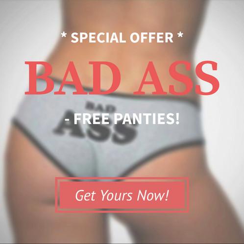 Best ass in panties