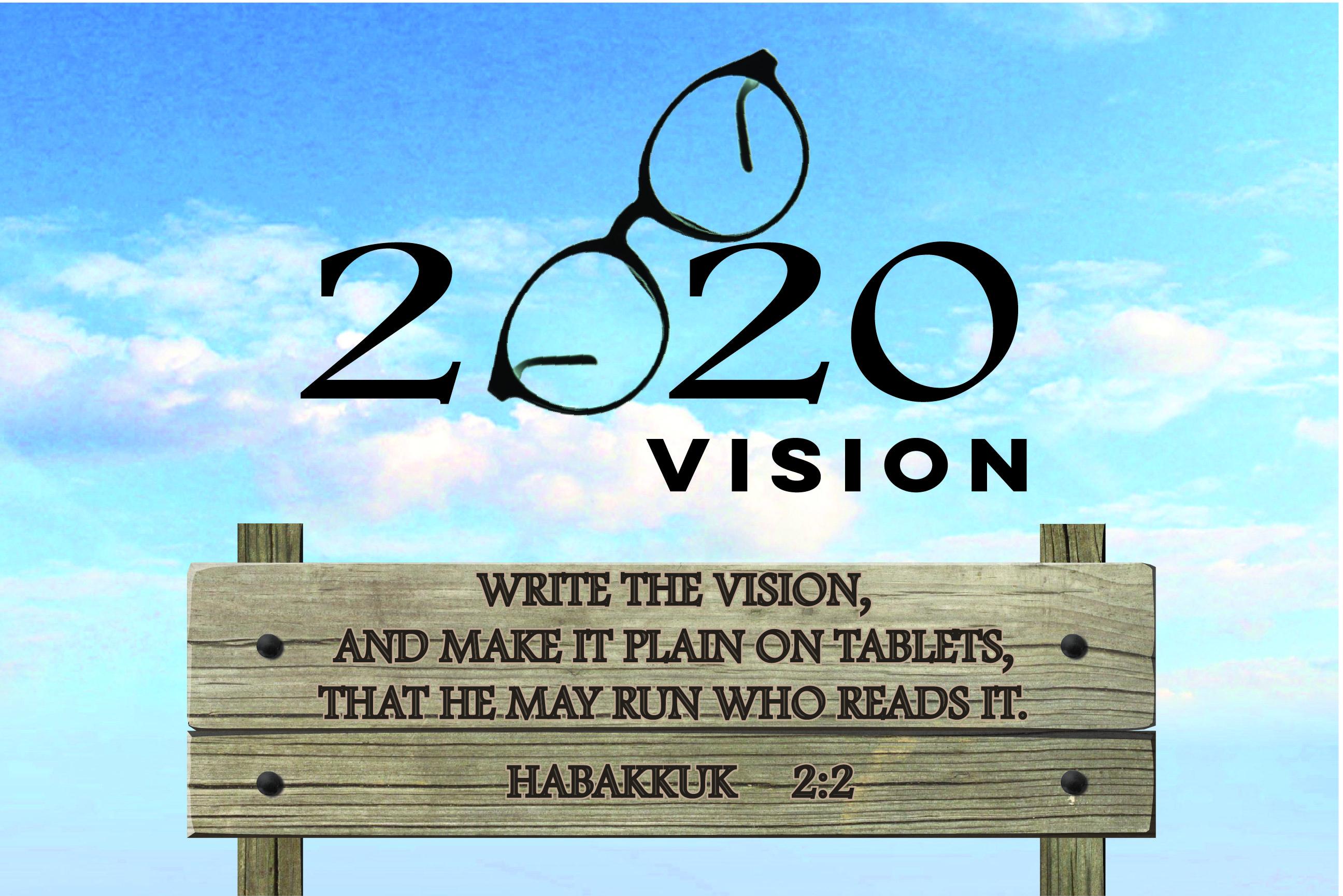 2020 vision - theme