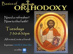 Basics of Orthodoxy