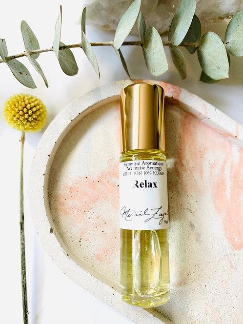 Relax Bouteille à billes huiles essentielles