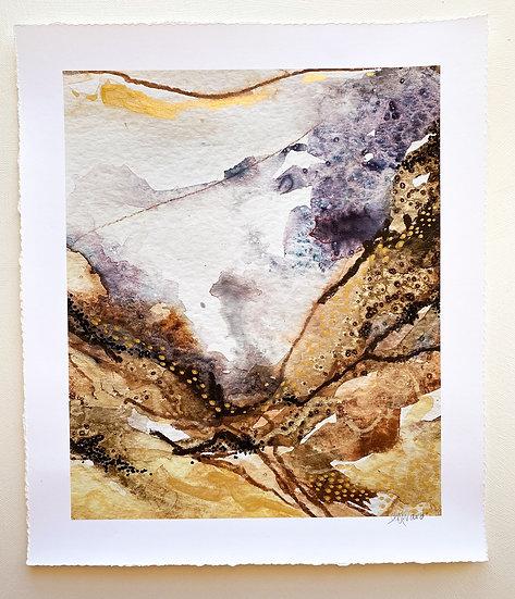 Dream Walker //Hand embellished Fine Art Print