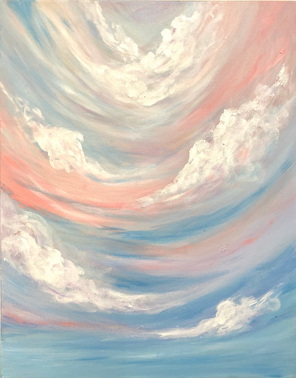 I want to fly. Original Painting