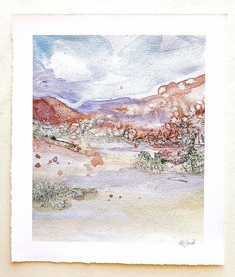 Pastel Landscape  // Fine Art Print