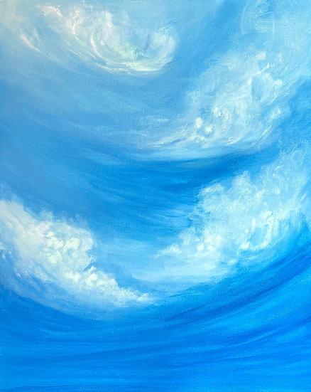 Into the mystic. Original Painting