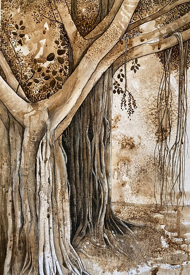 The enchanted curtain by Emma Ward Monuments Collection