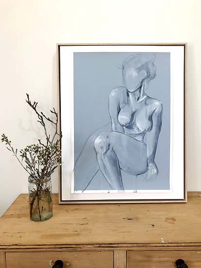 'I am Playful' Original painting on paper