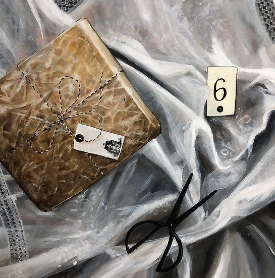 A Gift, Acrylic Painting 60cm x 60cm