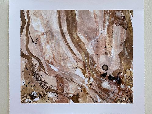Escape // Mixed Media Fine Art Print