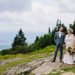 Nikki & Pete's Mountaintop Wedding
