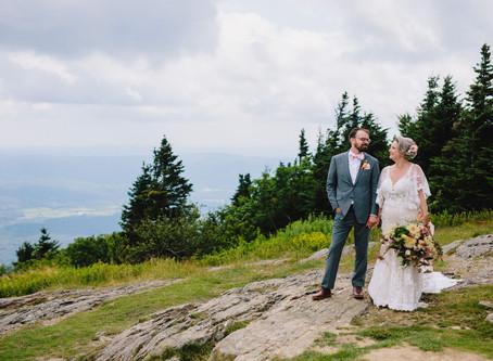 Nikki & Pete's Mountaintop Wedding