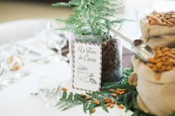 mariage wedding chocolat decoration marron  (9)