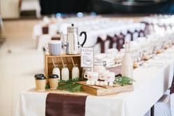 mariage wedding chocolat decoration marron  (1)