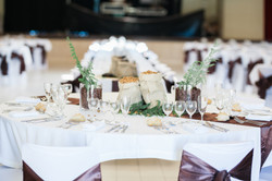 mariage wedding chocolat decoration marron  (22)