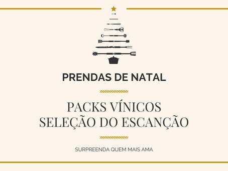 Packs Vínicos - Seleção do Escanção