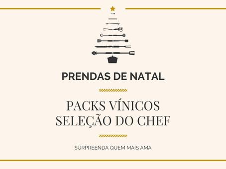 Packs Vínicos - Seleção do Chef