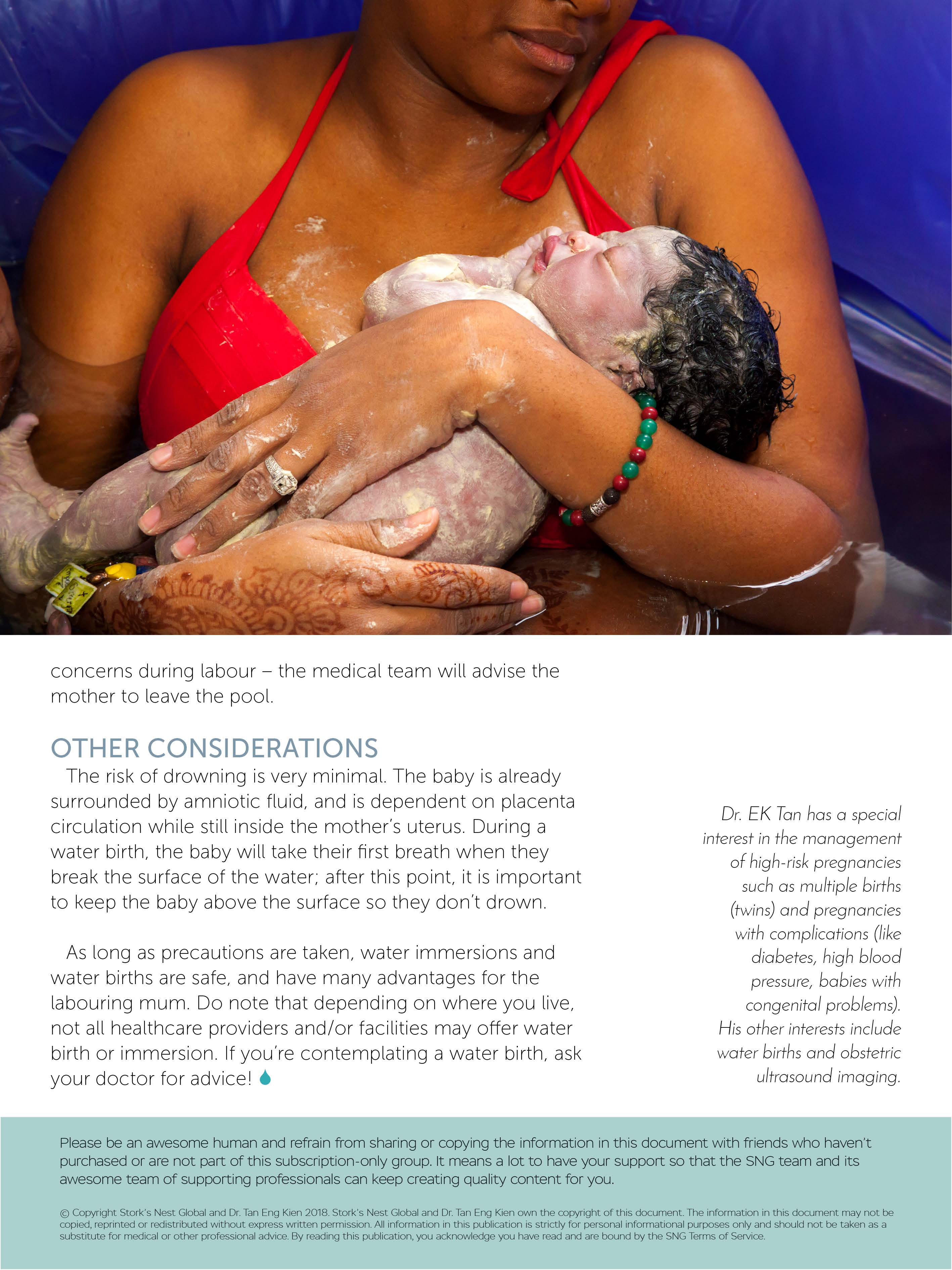 Water Birth - Is it for you?