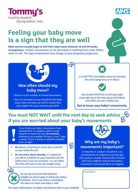 Baby's Movements in Pregnancy