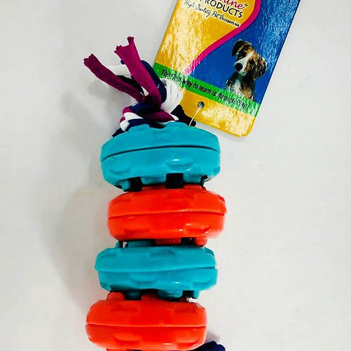 Canine Dog Toy With Rubber