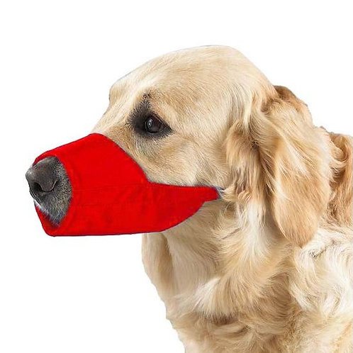 Kennel Nylon Adjustable Muzzle for Dogs
